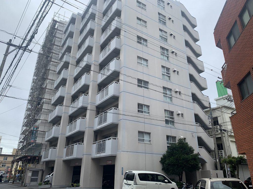 那覇市前島 一棟売マンション(コーポ有住)