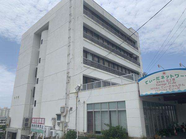 宜野湾市大山6丁目 てぃーだビル(沖縄アクターズスクール跡地)