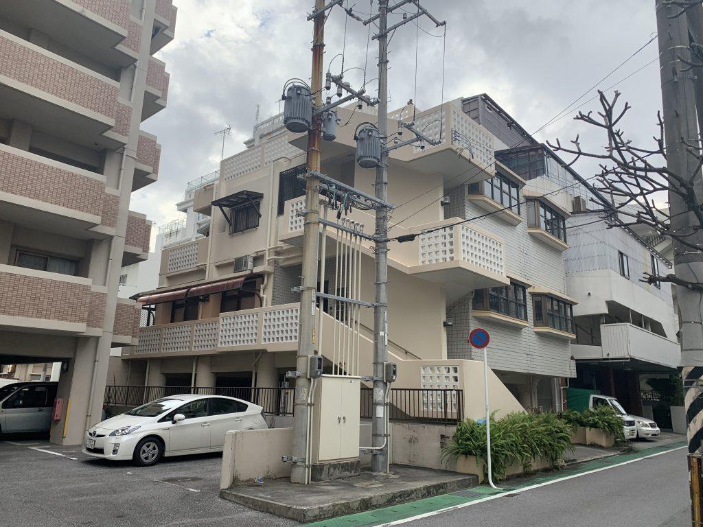 那覇市松山2丁目 売アパート